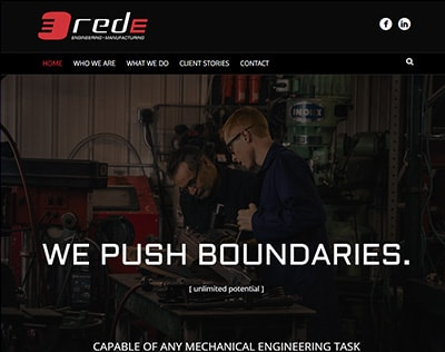 Red Engineering website