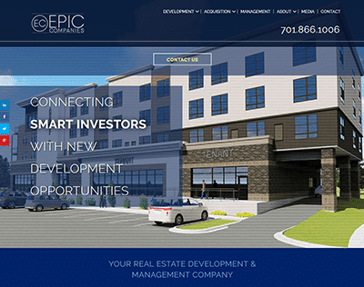 EPIC Companies website screenshot